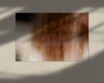Nackte Frau mit roten Haaren von Remke Spijkers