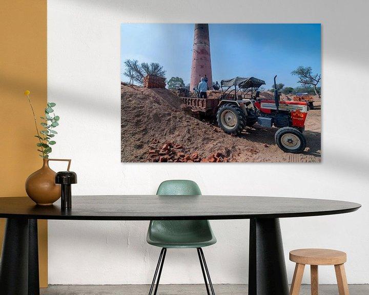 Sfeerimpressie: Barwa: Steenfabriek van Maarten Verhees