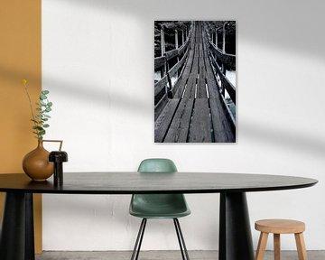 Kom eens over de brug... van Mark de Vries