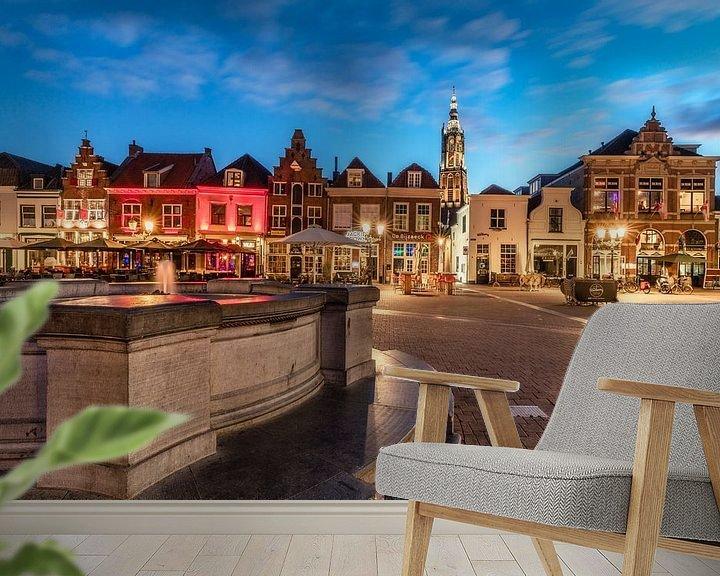 Sfeerimpressie behang: Hof van Bart Hendrix