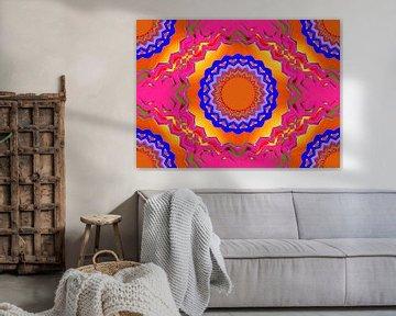 Fantastische vormen en kleurtinten van Leo Huijzer