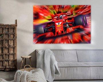 Victory Grand Prix USA 2018 - Kimi Räikkönen von Jean-Louis Glineur alias DeVerviers