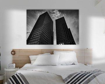 Moderne architectuur op de Zuidas in Amsterdam von Xandra Ribbers
