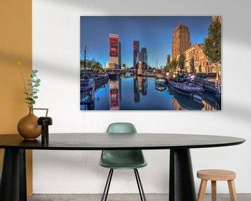 Rotterdam Wijnhaven von Rene Ladenius Digital Art