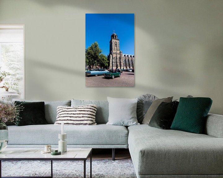 Sfeerimpressie: Lebuiniskerk in Deventer van Xandra Ribbers