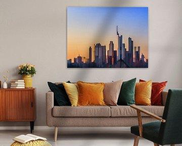 20. city-art, abstract, stad A. van Alies werk