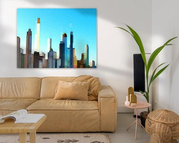 23. city-art, abstract, stad D.