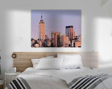 27. City-art, abstract, stad H.