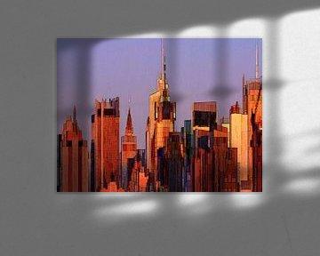 29. City-art, abstract, stad J. van Alies werk
