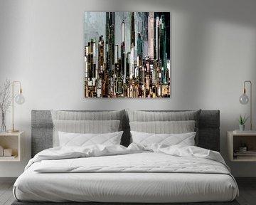 32. City-art, Abstract, stad M.