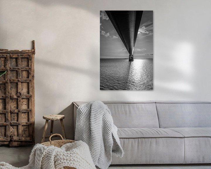 Sfeerimpressie: De Grote Beltbrug. van Menno Schaefer