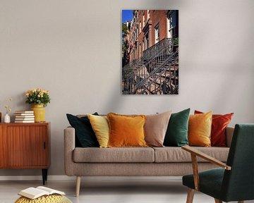 Straat in Manhattan, New York