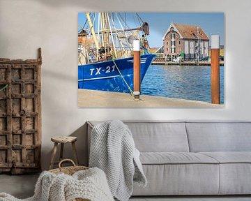 Haven van Oudeschild op Texel / Harbour of Oudeschild on Texel