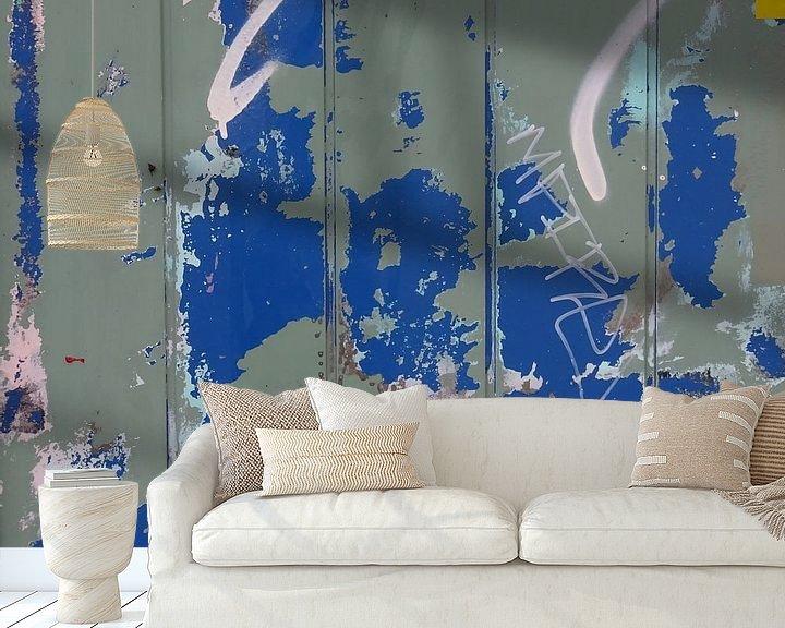 Sfeerimpressie behang: Urban Abstract 349 van MoArt (Maurice Heuts)