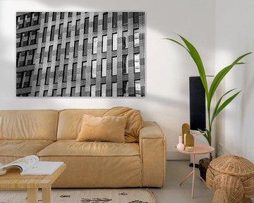 Ramen in kantoorgebouw op de Zuidas in Amsterdam von Xandra Ribbers
