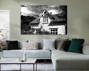 Haus in der Sonne in Norwegen von Rob van Dam