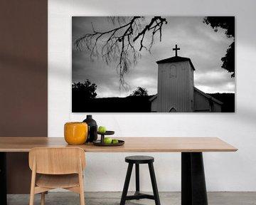 Kerkje in Noorwegen von Rob van Dam