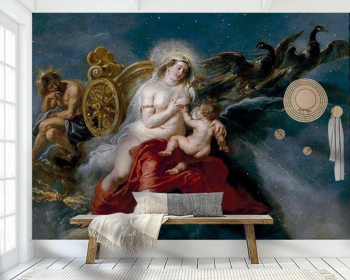 Beispiel fototapete: Der Ursprung der Milchstraße, Peter Paul Rubens