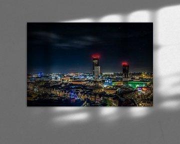 Leeuwarden by night von Alex De Haan