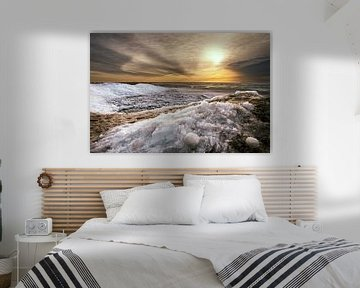 IJslandschap van Fokje Otter