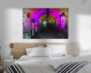 De Ganzenmarkt tunnel in Utrecht van Evert Jan Luchies