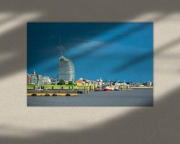 Blick auf die Stadt Bremerhaven von Rico Ködder