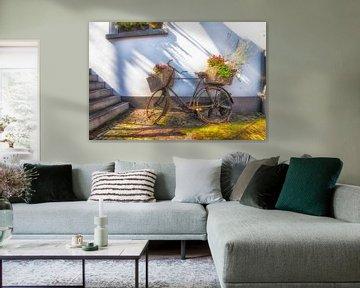 Flower Bicycles van Roland de Zeeuw fotografie