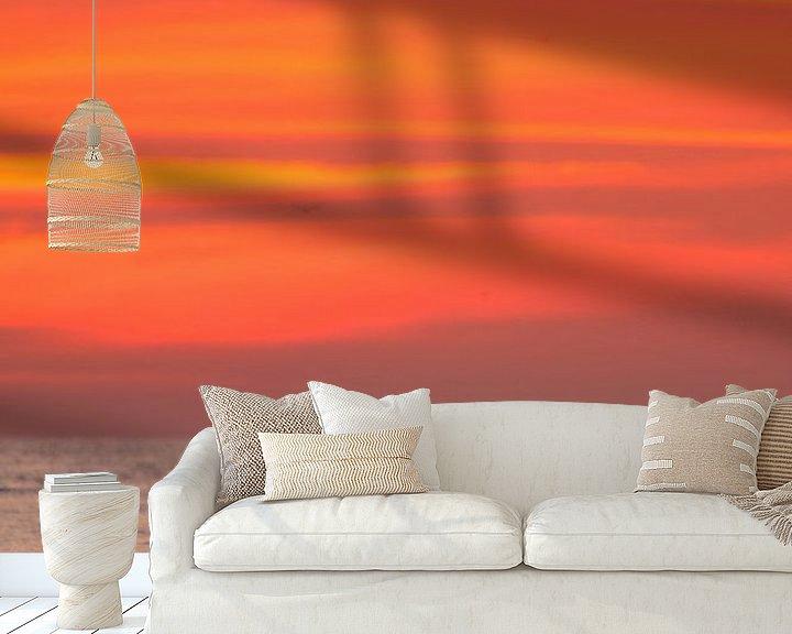 Impression: Boei in de vaargeul zonsondergang sur Martijn Smit