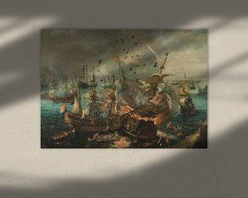 Slag bij Gibraltar in 1607, Cornelis Claesz. van Wieringen