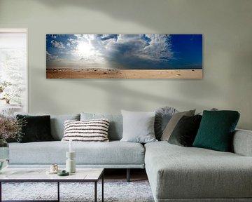 Panorama Horsplaat Texel van Martijn Smit