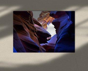 Antelope Canyon 1547 von Rob Walburg
