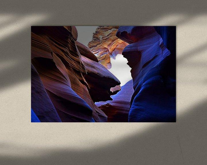 Beispiel: Antelope Canyon 1547 von Rob Walburg