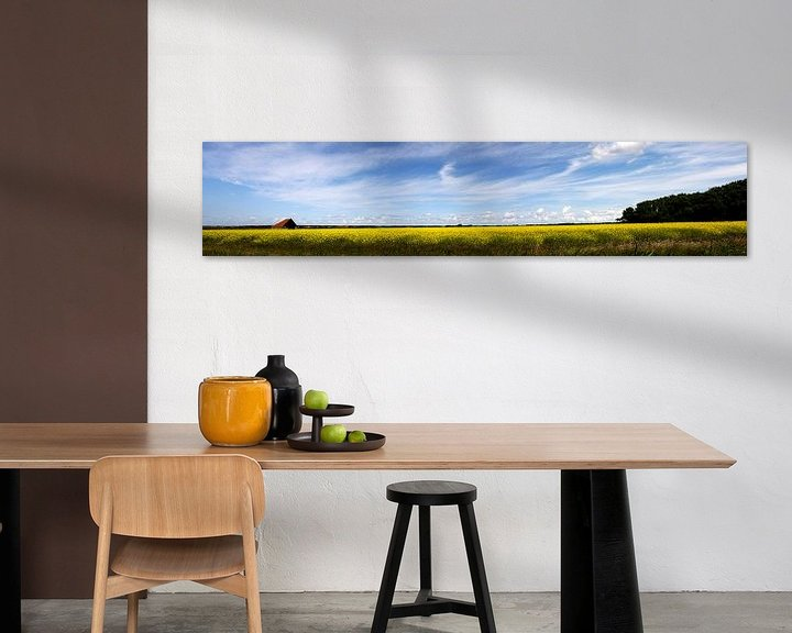Sfeerimpressie: Koolzaadveld Texel van Martijn Smit