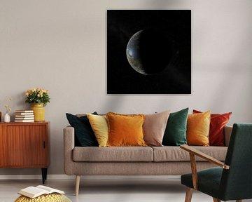 De Nieuwe Maan aan de hemel van Frans Blok