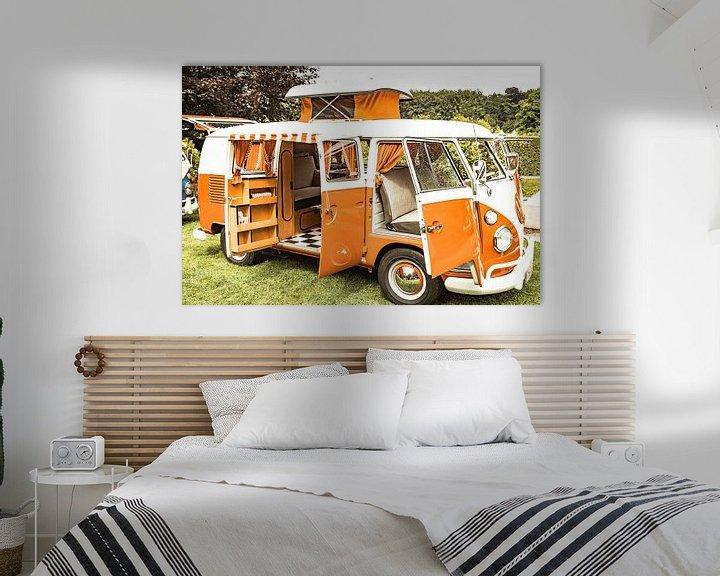 Sfeerimpressie: Volkswagen Transporter T1-camper van Sjoerd van der Wal