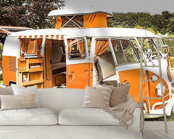 Sfeerimpressie behang: Volkswagen Transporter T1-camper van Sjoerd van der Wal