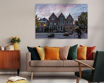 Zonsondergang in Utrecht