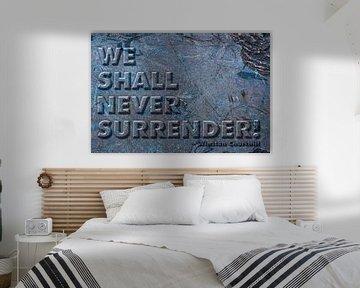 """""""We zullen ons nooit overgeven!"""" van 2BHAPPY4EVER.com photography & digital art"""