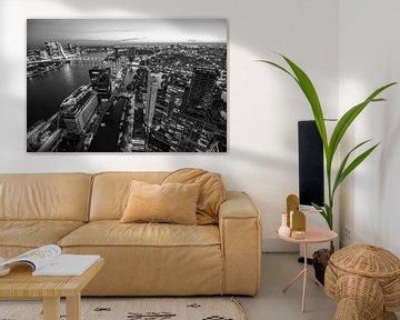 View over Rotterdam von Peter Hooijmeijer