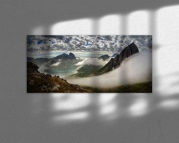 Fjordgard Panorama van Wojciech Kruczynski