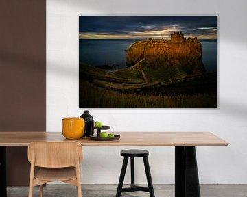 Dunnottar Castle sunset von Wojciech Kruczynski