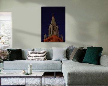 St. Petri kirke in Bergen, Norwegen