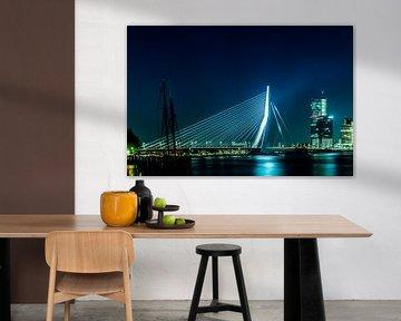 Rotterdam, Erasmus Brücke von Maarten Visser