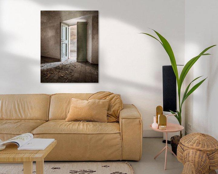 Beispiel: Licht door de openslaande deuren von Manja van der Heijden