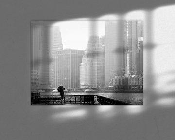 Ein Blick auf Manhattan von Rutger van Loo