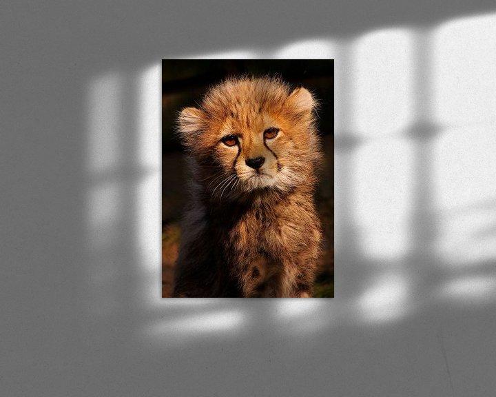 Sfeerimpressie: Jachtluipaard baby van Eye to Eye Xperience By Mris & Fred