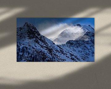 Besneeuwde bergen von Eye to Eye Xperience By Mris & Fred