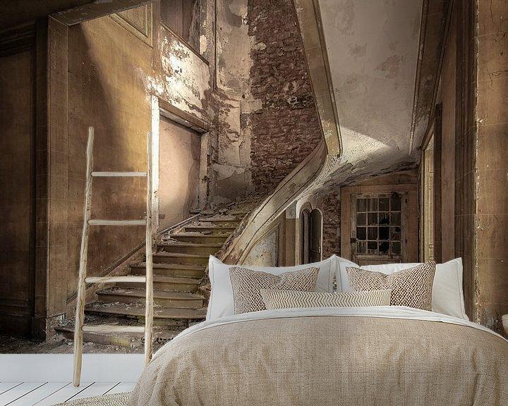 Beispiel fototapete: Treppenhaus von Olivier Photography