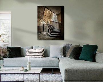 Alte Treppe von Olivier Photography