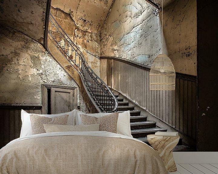 Beispiel fototapete: Alte Treppe von Olivier Photography